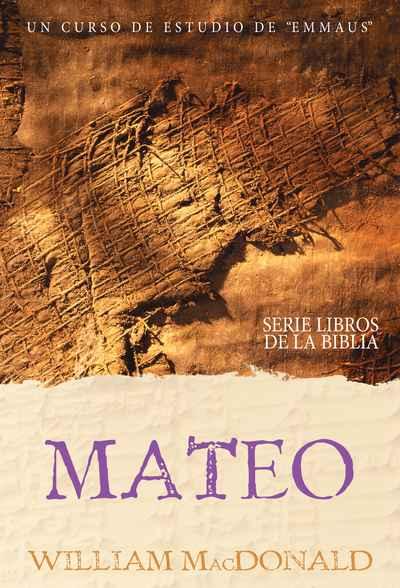 portada del curso El evangelio según Mateo