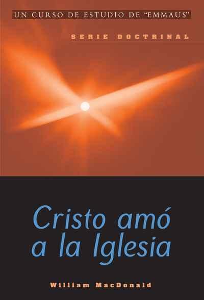 portada del curso Cristo amó a la Iglesia